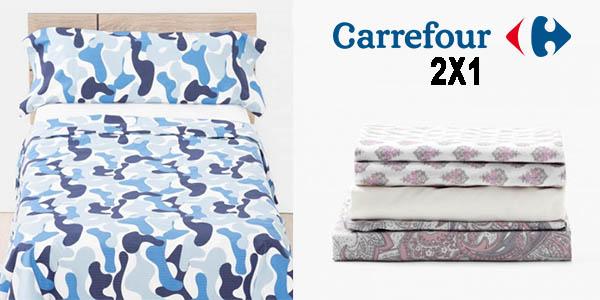 forma elegante artesanía exquisita moda mejor valorada 2x1 en Fundas nórdicas y juegos de sábanas en Carrefour ...