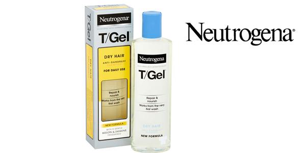 Champú Anticaspa Neutrogena T/Gel de uso diario 250 ml barato en Amazon