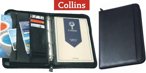 Chollo Carpeta ejecutiva Collins con cremallera