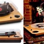 Chollo Giradiscos Ion Audio Max LP estéreo de 3 velocidades con conversor digital