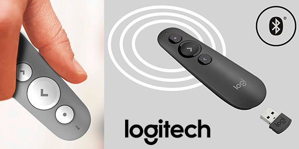 Mando láser Logitech R500 inalámbrico en oferta
