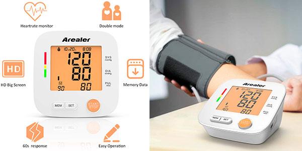 Chollo Tensiómetro de brazo inteligente Superior Arealer
