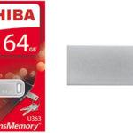 Memoria USB Toshiba TransMemory U363 de 64 GB