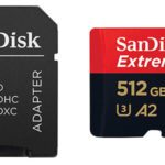 Tarjeta microSDXC SanDisk Extreme PRO A2 de 512 GB