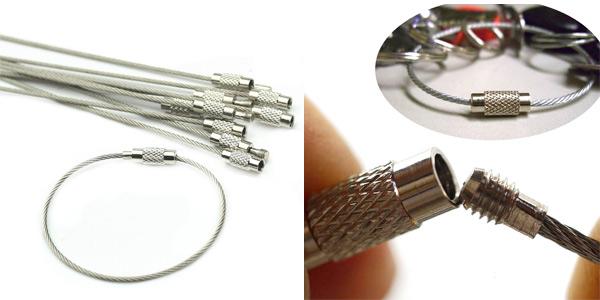 Pack x10 Piezas metálicas HeroNeo con cierres giratorios barato en Amazon