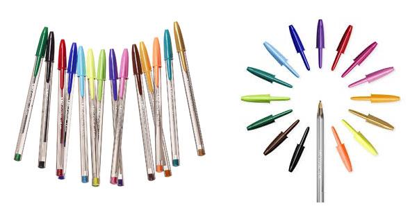 Pack x 5 bolis BIC Cristal Multicolour en oferta en Amazon