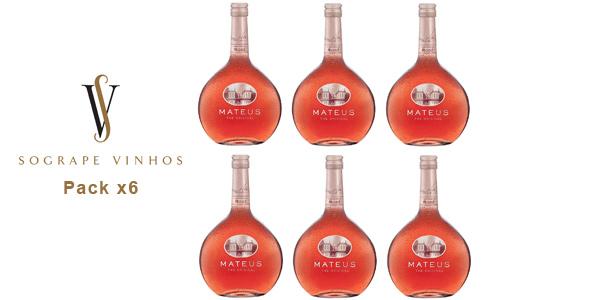 Pack x6 Vino rosado Mateus de 750 ml/ud barato en Amazon