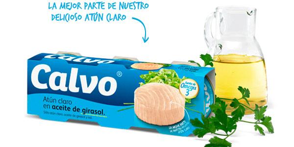 Pack x60 latas de Atún claro Calvo en aceite de girasol chollo en Amazon