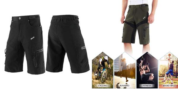 Pantalón corto multibolsillo Lixada a buen precio en Amazon