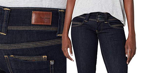 Pantalones vaqueros Pepe Jeans Venus para mujer chollo en Amazon