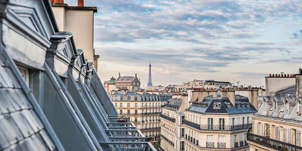 París escapada en hotel con vistas a la ciudad oferta Voyage Privé