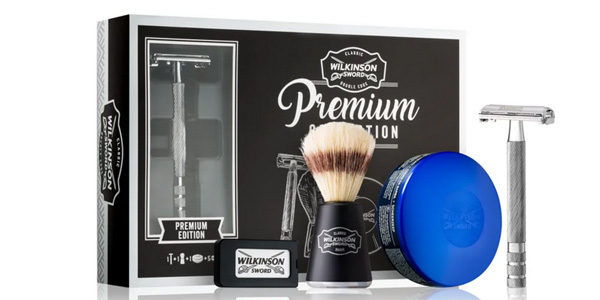 Set de afeitado Wilkinson Sword Double Edge Classic Premium Collection barato en Amazon