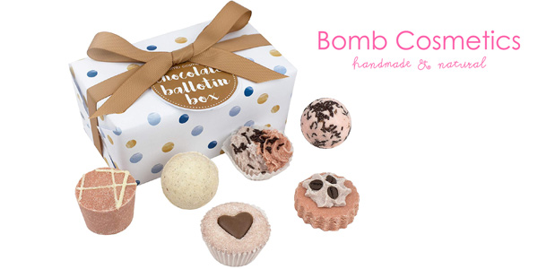 Set 6 bombas de baño Bomb Cosmetics Ballotin Box en caja regalo barato en Amazon