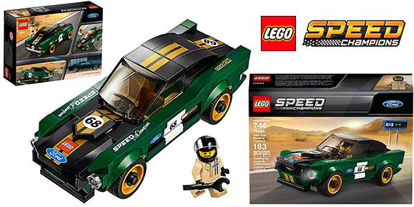 Set Ford Mustang Fastback de 1968 de LEGO Speed Champions barato