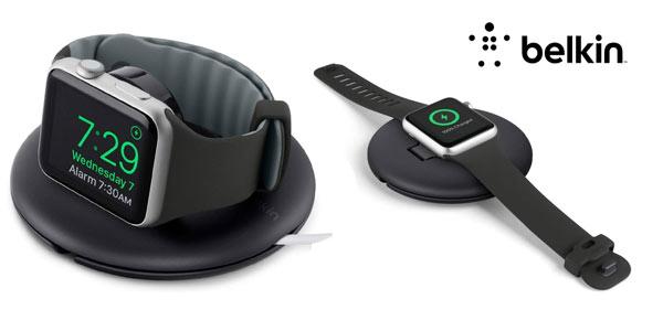 Soporte de viaje y carga Apple Watch Belkin barato en Amazon