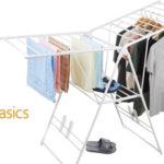 Tendedero de ropa AmazonBasics con alas barato en Amazon