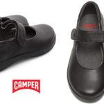 Zapatos colegial Camper Spiral Comet para niña baratos en Amazon