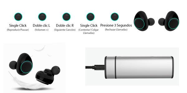 Auriculares TWS Holyhight X9 al mejor precio en Amazon