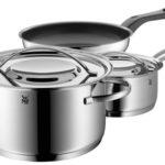 Bateríade cocina de 3 piezas WMF Gala de acero inoxidable chollo en Amazon