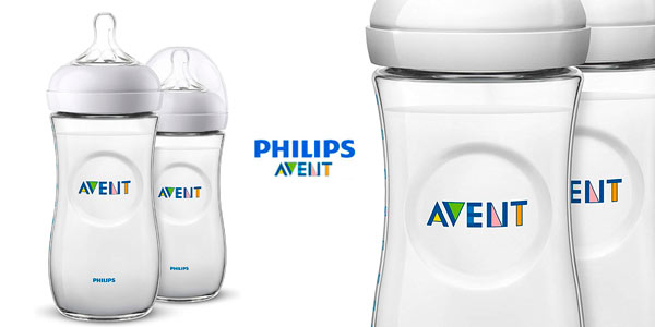 Biberones anticólicos Philips Avent baratos en Amazon