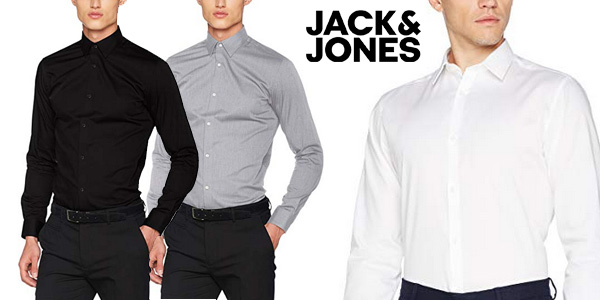 Camisa de vestir JACK & JONES PREMIUM Jprnon Iron Shirt para hombre barata en Amazon