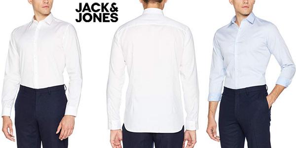 Camisa de vestir JACK & JONES PREMIUM Jprnon Iron Shirt para hombre chollo en Amazon