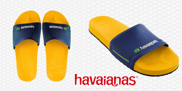 Chanclas unisex Havaianas Slide Brasil baratas en Amazon