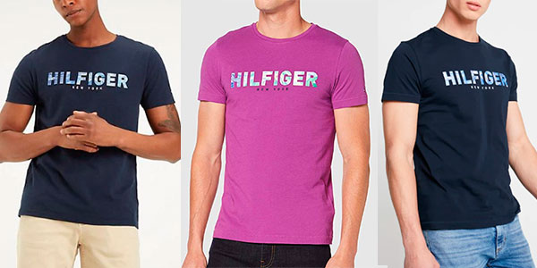 Chollo Camiseta Tommy Hilfiger Applique para hombre