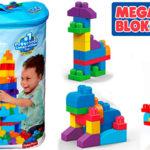Chollo Bolsa Mega Bloks con 80 bloques de construcción