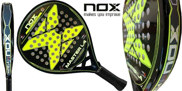 Pala de pádel Nox Master Luxury L4 en oferta