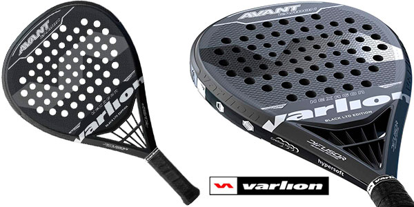 Chollo Pala de pádel Varlion Avant Carbon Difusor Black LTD Edition
