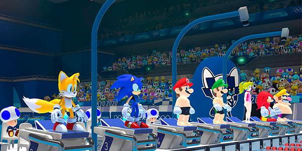 Mario & Sonic en las Olimpiadas de Tokyo 2020 para Switch en oferta