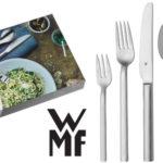 Cubertería 60 piezas WMF Alteo en acero pulido barata en Amazon