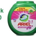 Detergente en cápsulas Ariel 3en1 Pods Fresh Sensations para 50 lavados barato en Amazon
