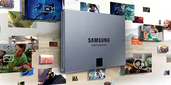 Disco SSD Samsung 860 QVO de 2 TB barato