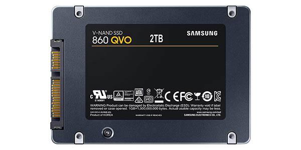 Disco SSD Samsung 860 QVO de 2 TB en Amazon