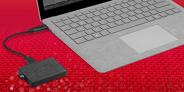 Disco portátil Seagate SSD One Touch de 1 TB barato