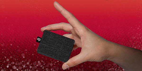 Disco portátil Seagate SSD One Touch de 1 TB en Amazon