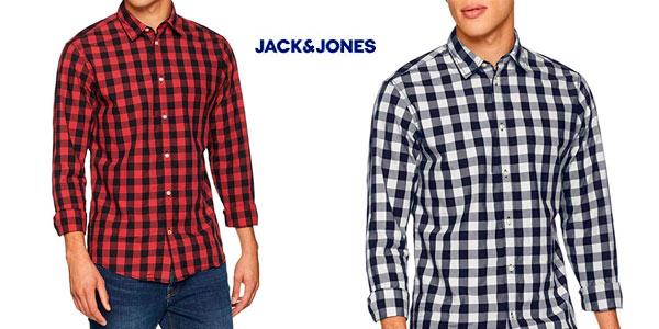 Camisa Jack & Jones JJegingham shirt barata en Amazon
