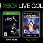 Juegos GRATIS con Gold noviembre de 2019 para Xbox One