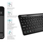 Mini teclado inalámbrico VicTsing E1 para el salón barato en Amazon