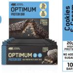 Pack x10 Barras de Proteínas Optimum Nutrition baratas en Amazon