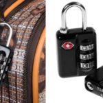 Pack Anpro 2 Candados de seguridad TSA + 2 Etiquetas para equipaje barato en Amazon