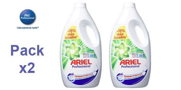 Pack x2 Ariel Professional barato en Amazon