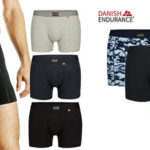 Pack x3 Calzoncillos Bóxers Danish Endurance para hombre baratos en Amazon