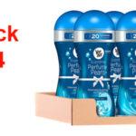 Pack x4 Vernel Supreme Pearls Potenciador Fresh Joy de perfume para la ropa 260 gr/ud barato en Amazon