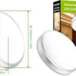 Plafón LED Ustellar Techo 12W barato en Amazon