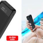 Powerbank Charmast USB Tipo-C de 20.800 mAh