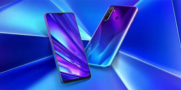 """Smartphone Realme 5 Pro de 6,3"""" azul o verde"""