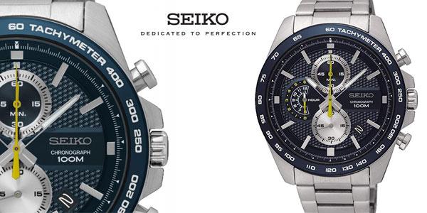 Reloj Cronógrafo Seiko SSB259P1 para hombre barato en Amazon